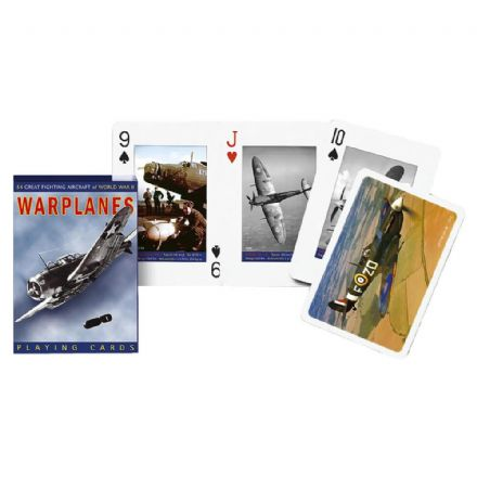 Piatnik Warplanes Playing Cards